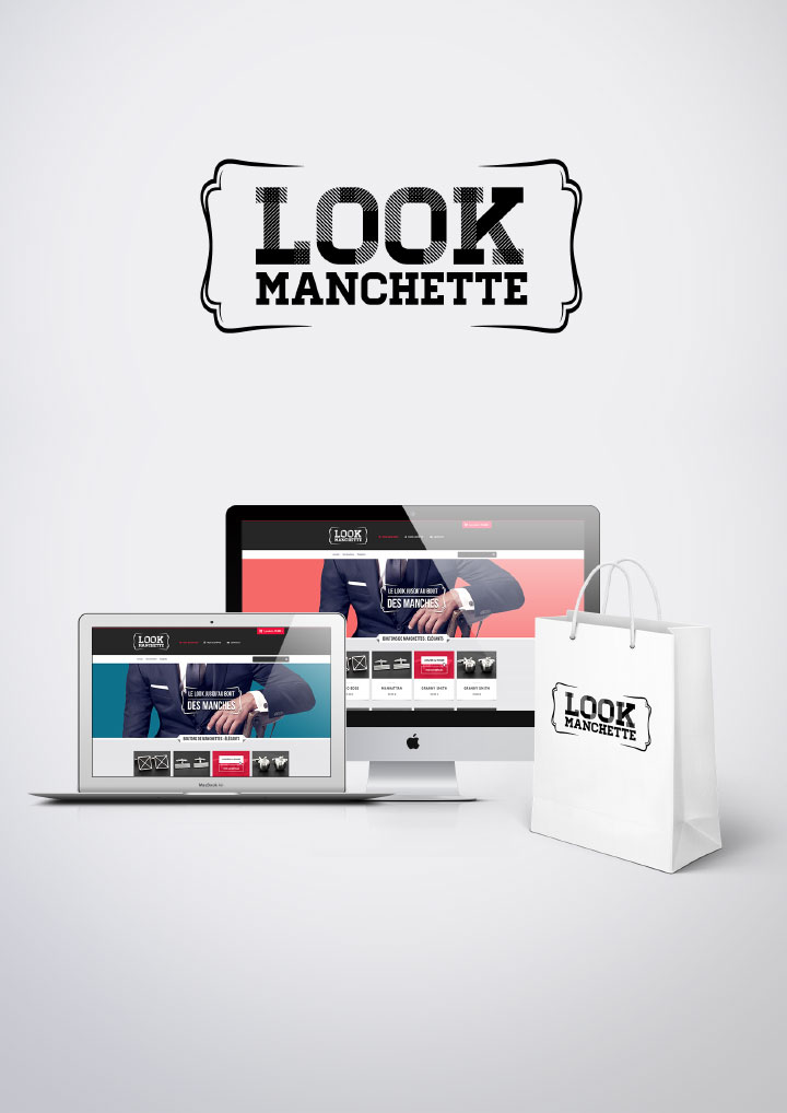 Webdesign Look Manchette